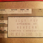 Iggy ticket 1990