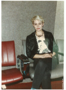 I told her to give me attitude! LAX 1988 send off.