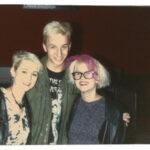 Erika, Tiina & I at LAX send off 1988 Hollywood