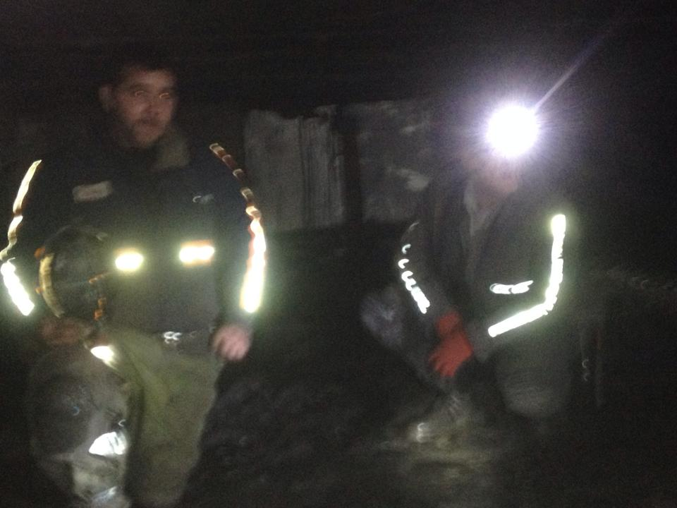 Brothers in coalmining