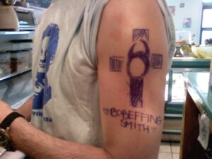 Coffee guy's ink! Ballpoint.