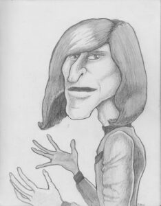Crispin Glover 1992 by Normal Bob