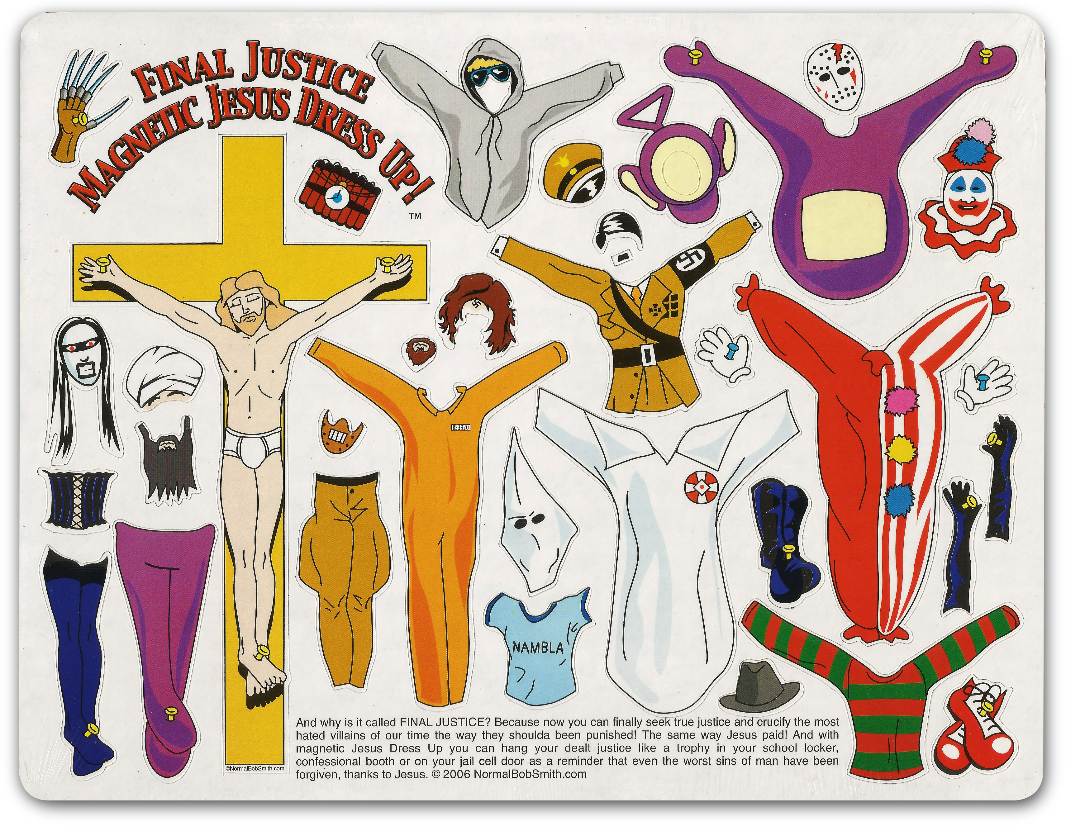 Final Justice Jesus Dressup 2006 $15