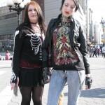 2 metal scene girls