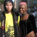 two interracial street kids
