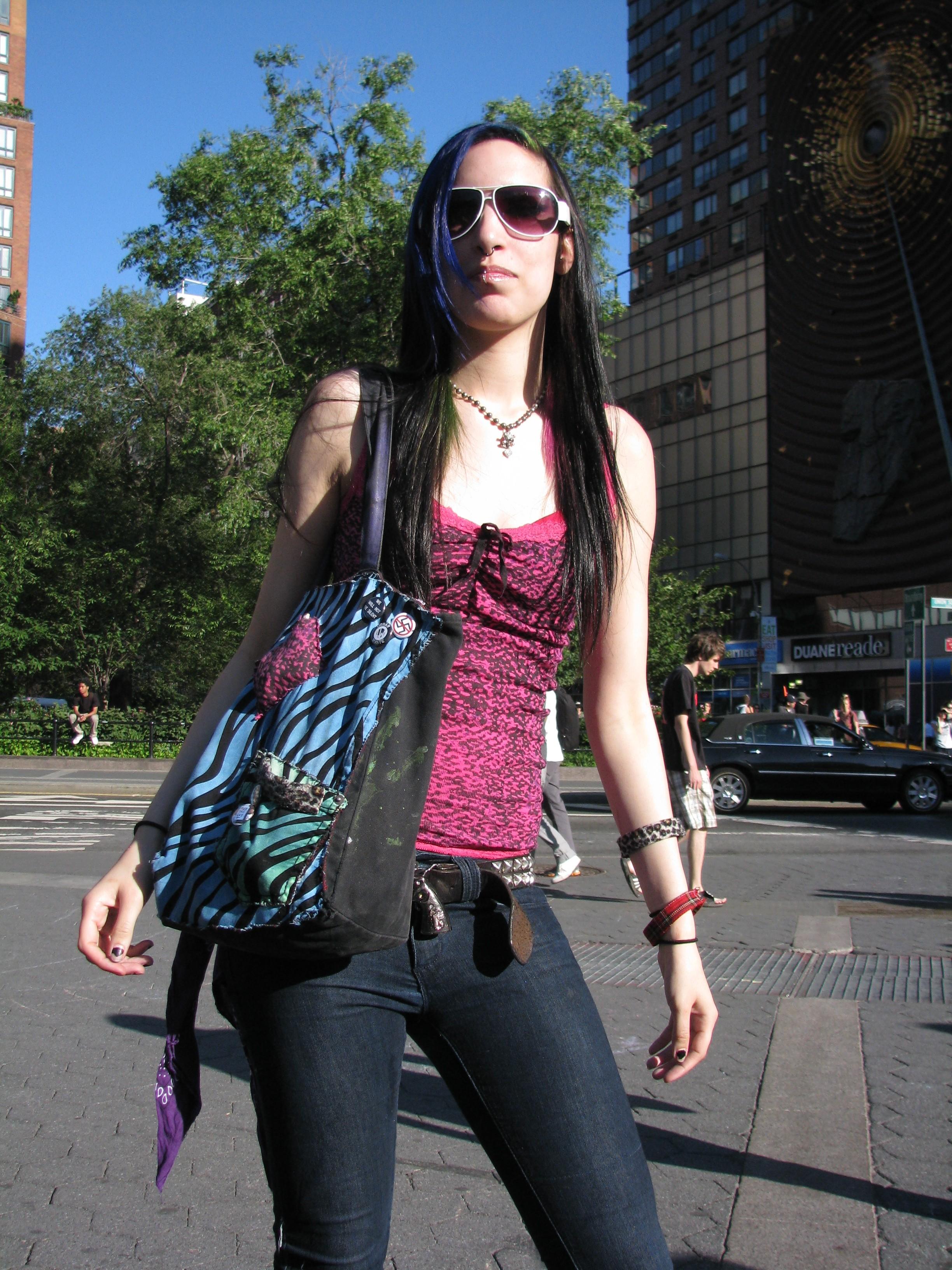 heavy metal girl