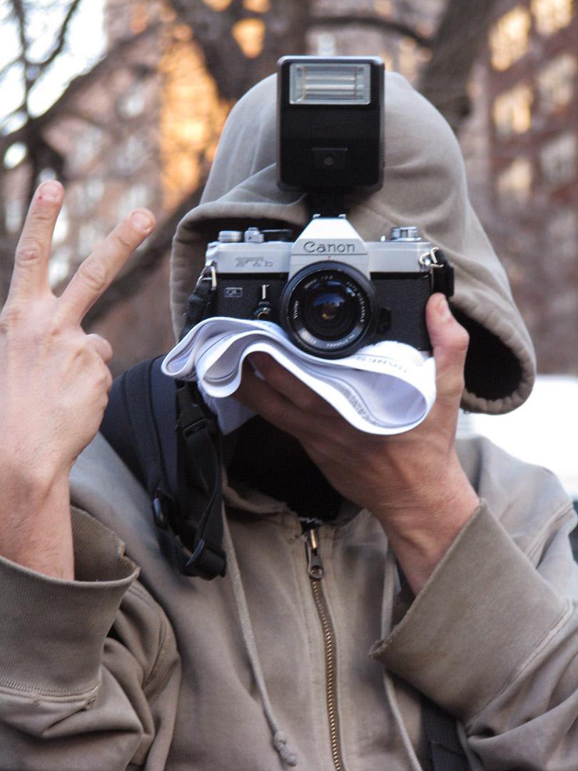 creepy photographer with boy's underwear