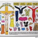 Original Jesus Dressup fridge magnets