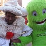 Wendell Headley w/Green Monster