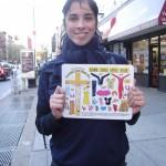 Sarah Silverman & Jesus Dressup fridge magnets