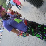raver kid drinking soda