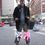 bum with japanese dragon marionettes