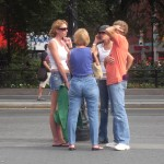 Lost Tourist Family