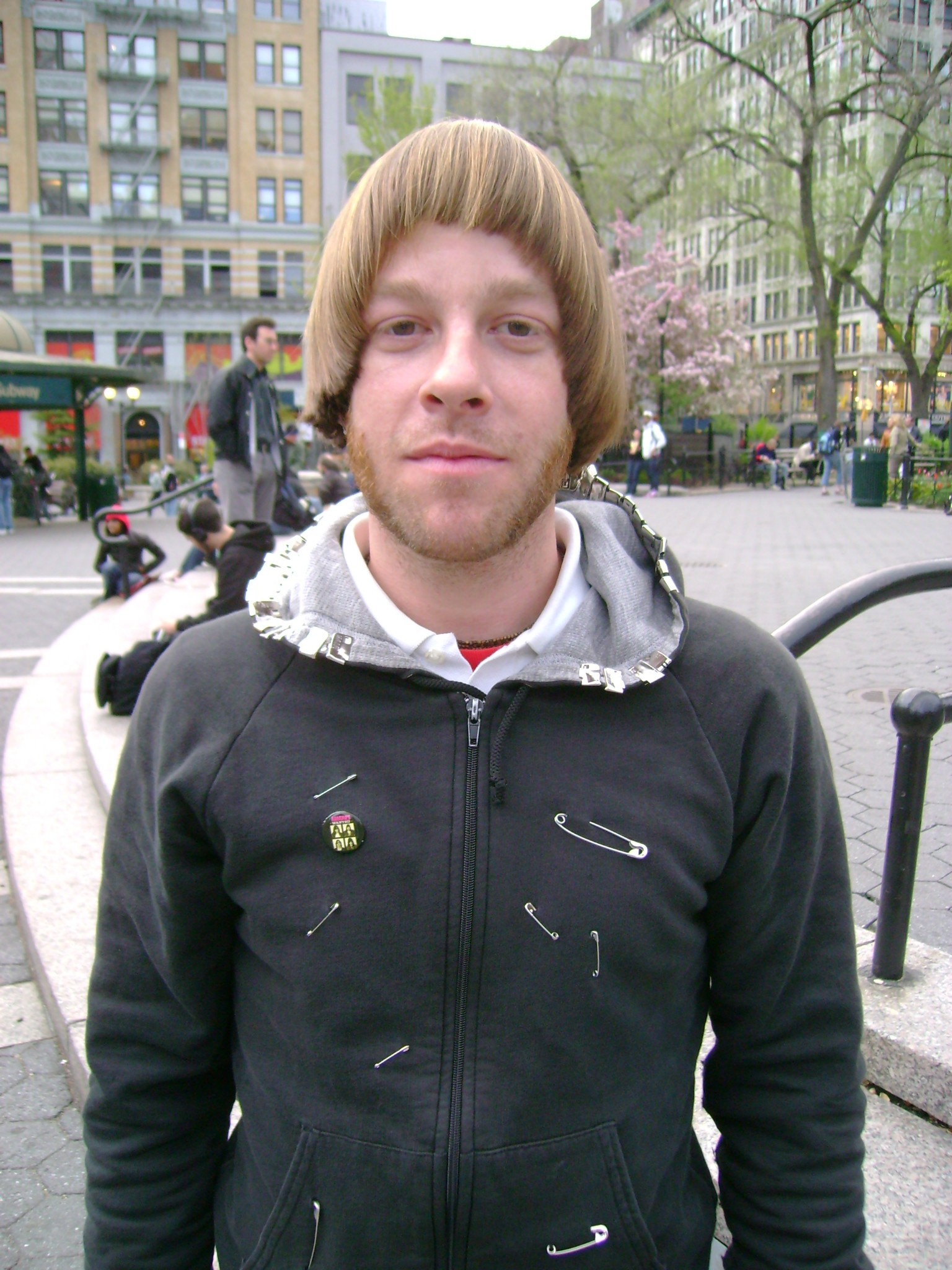 skater with Oasis haircut