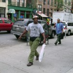 The infamous Birdcall Man of NYC