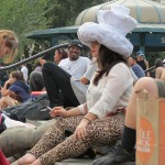 Girl in Wendell's Hat