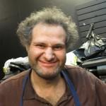 man making ugly face