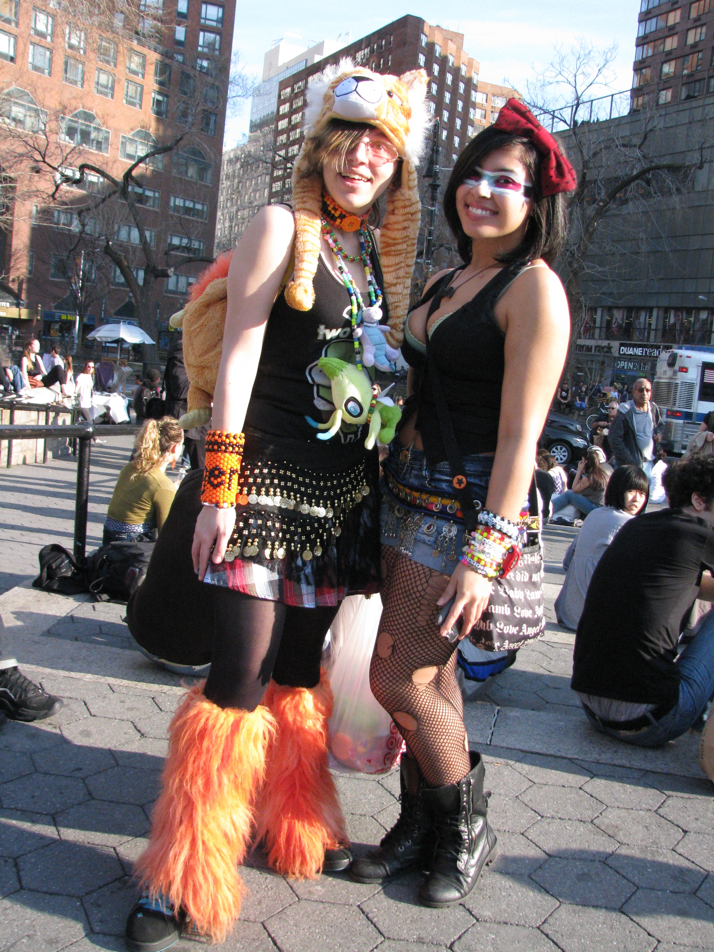 Furry Raver Girls