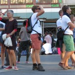 Tourists Searching