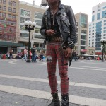 Punk rock kid