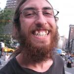 bearded Man shows extra K9s