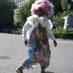 homeless fashion model