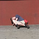 Nodding Junky on 14th Street