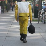 Man in Yellow Rubber Suit