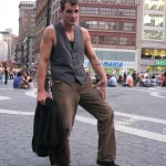 new york man posing