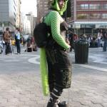 Green Graver Girl