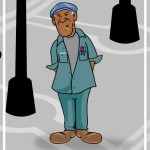 black man cartoon