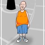 lotion man cartoon