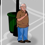 spanish old man cartoon