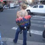 Woman with Elephant Tattoo