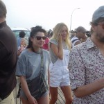 Chloe Sevigny on The Boardwalk at Coney Island