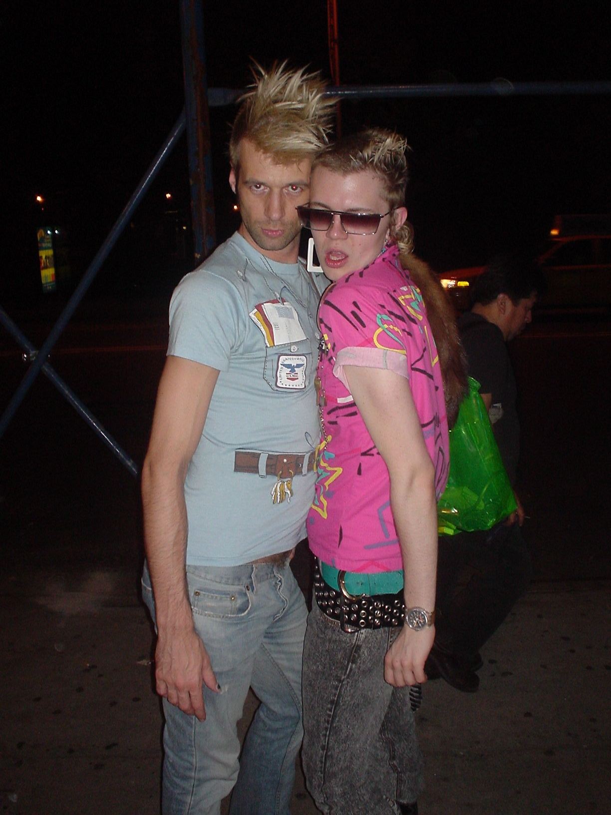 punk gay couple