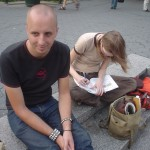 Normal Bob & Colyn at Union Square