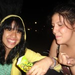 Saundra & friend