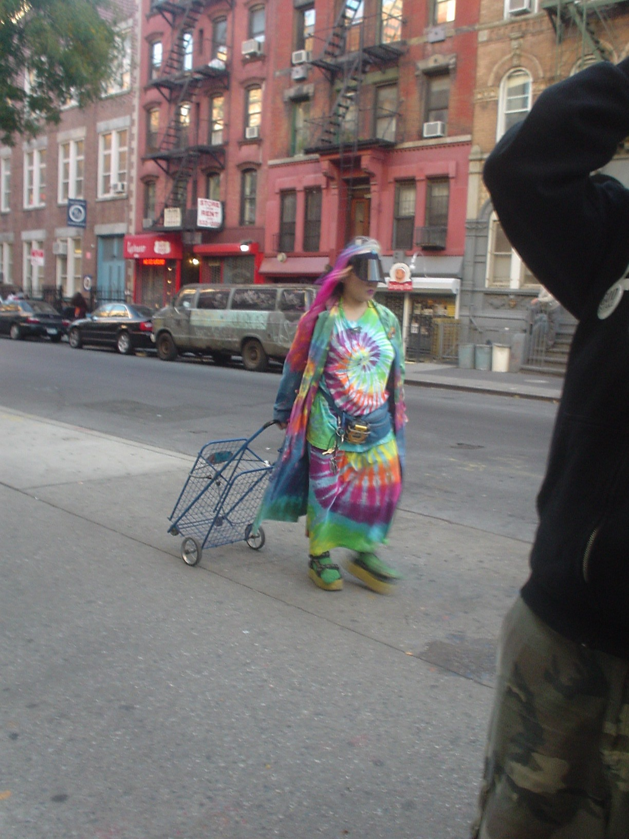 Tie-dye Woman