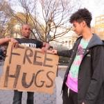 free hugs kids