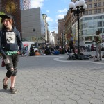 cute homeless girl