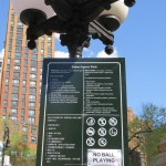 Union Square Park Rules No Ball Playing