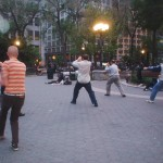 Normal Bob doing Tai Chi at Union Square