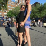 dominatrix & sissy Man in Dress