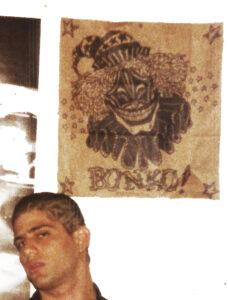 BONKO! '88 felt marker on paper bag