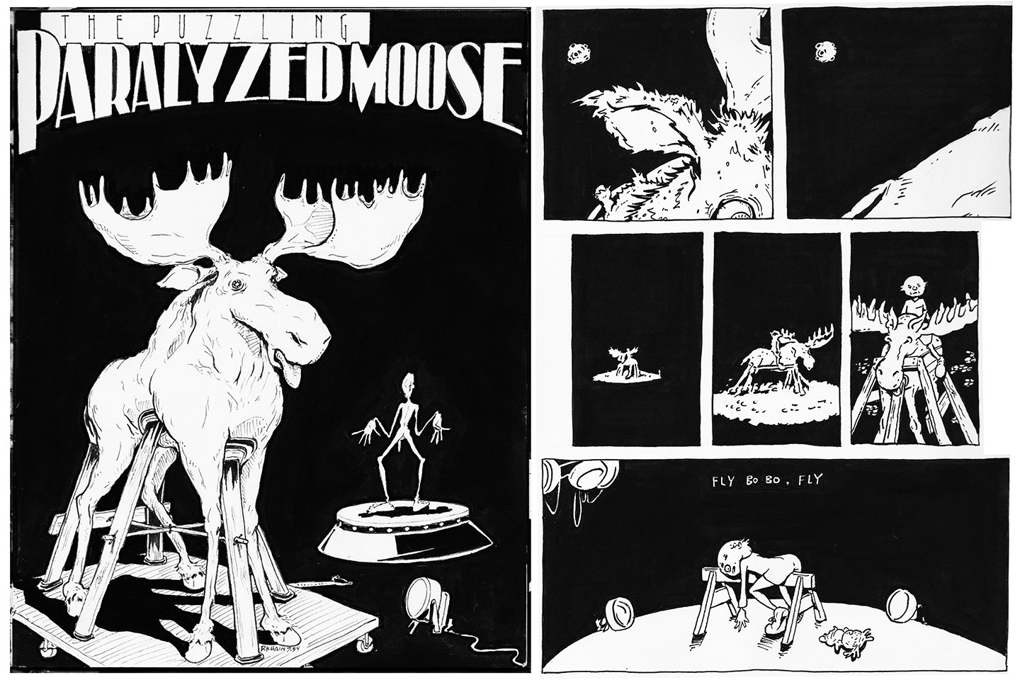 The Puzzling Paralyzed Moose