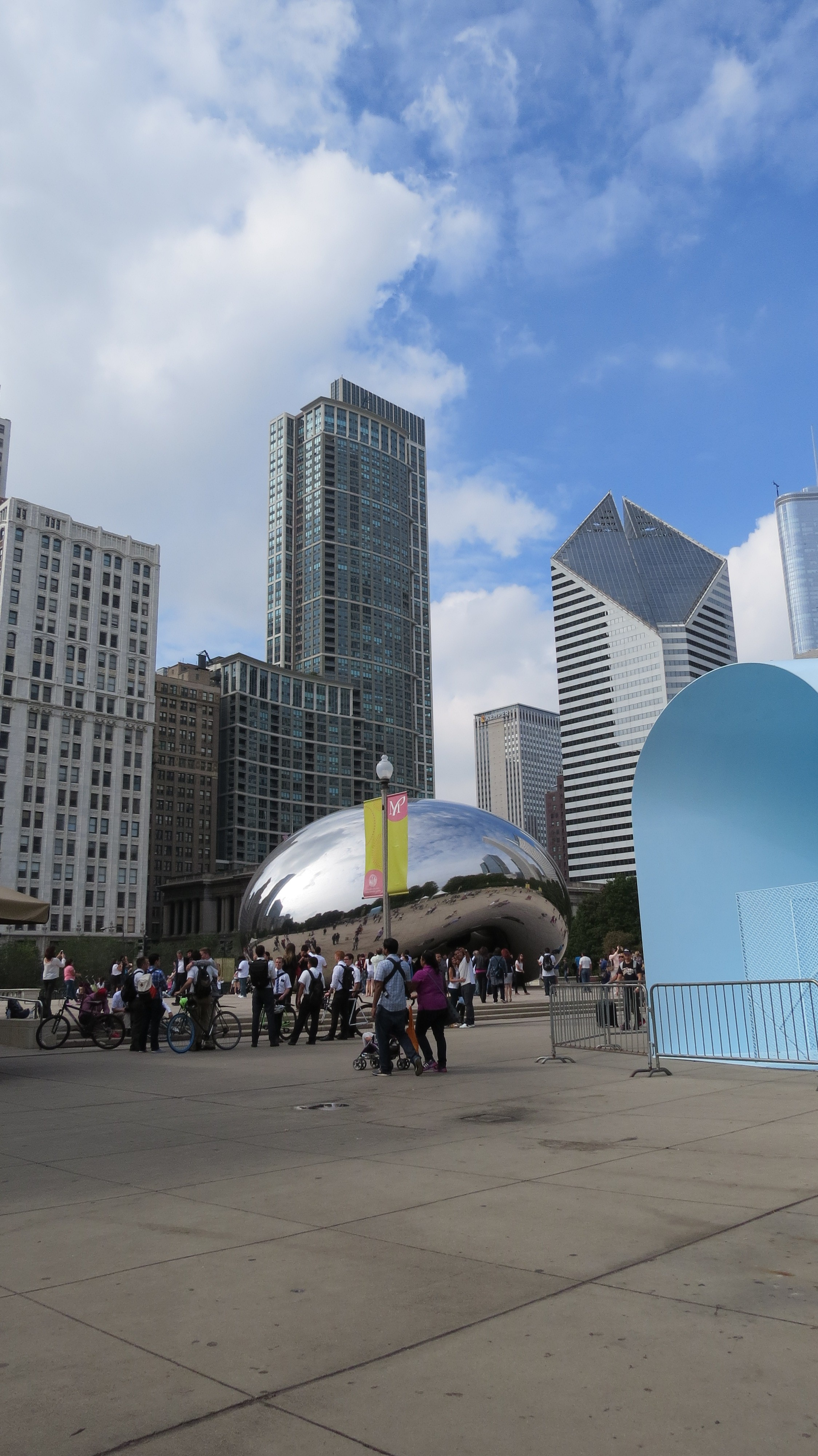 The Bean in Millenium Park, Chicago