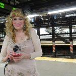 Ricki Dale in the subways