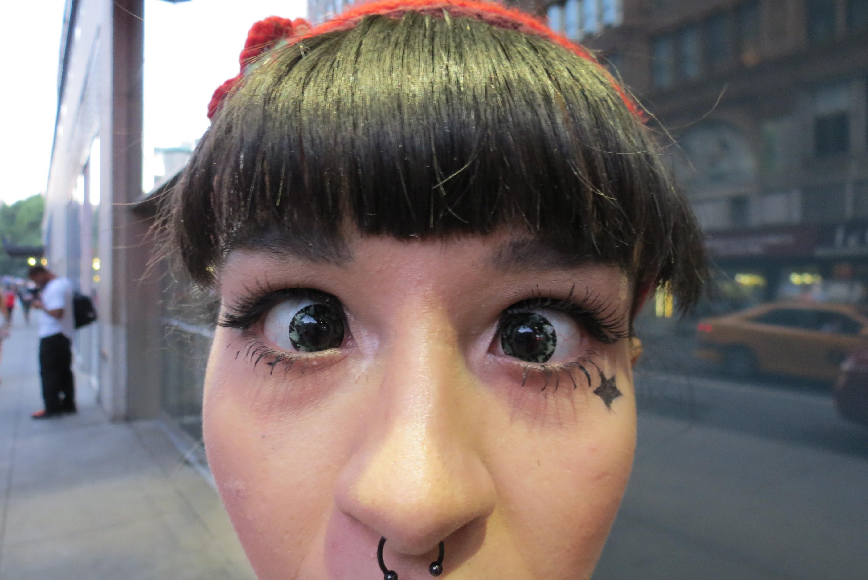 cross eyed girl