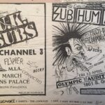 uk subs subhumans flyers